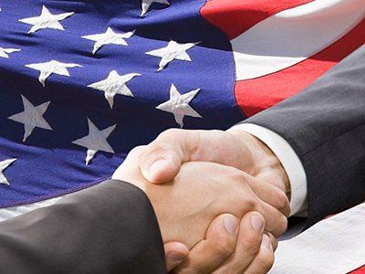 Partnership and  politics concept